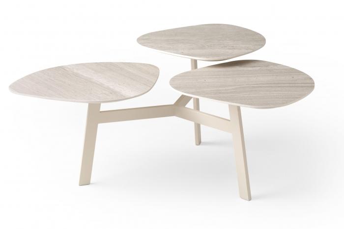 Design Salontafel Leolux.Ninfea Clover Salontafel Leolux Hulshoff Design Centers
