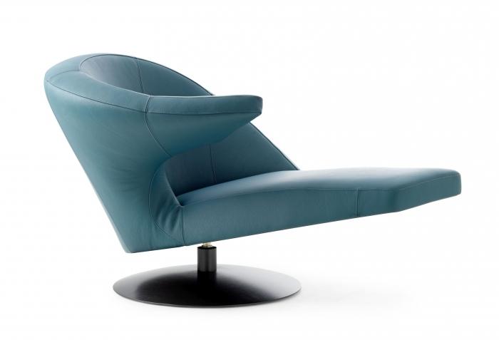 Leolux Fauteuil Leer.Parabolica Draaifauteuil Leolux Hulshoff Design Centers
