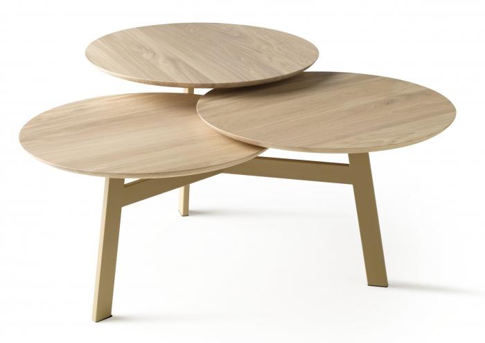 Design Salontafel Leolux.Ninfea Rondo Salontafel Leolux Hulshoff Design Centers